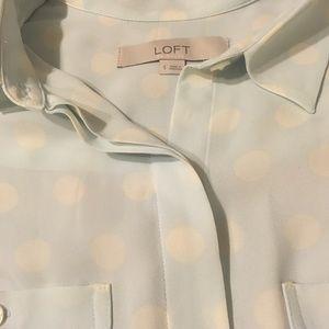 Loft button down shirt size small